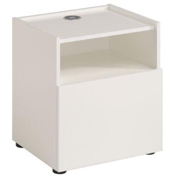Hello szekrény vezeték nélküli töltővel, fehér